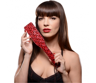 Шлёпалка Luxury Fetish Passionate Paddle Red