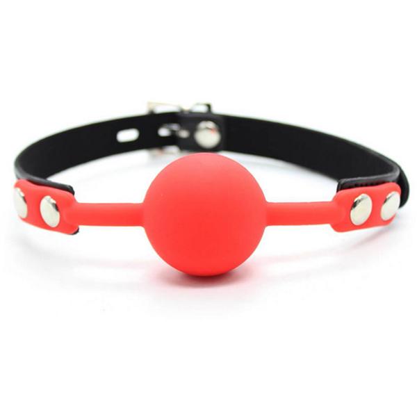 Кляп с силиконовым шариком Silicone Ball Gag 4 см