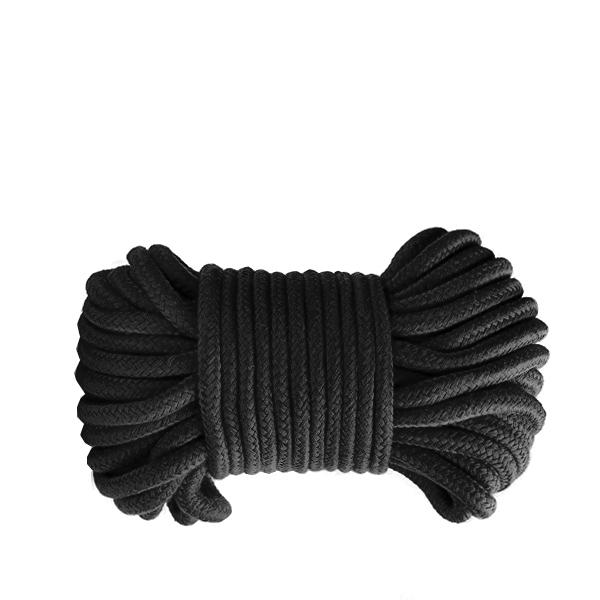 Верёвка для бондажа Shibari Rope Black 10м