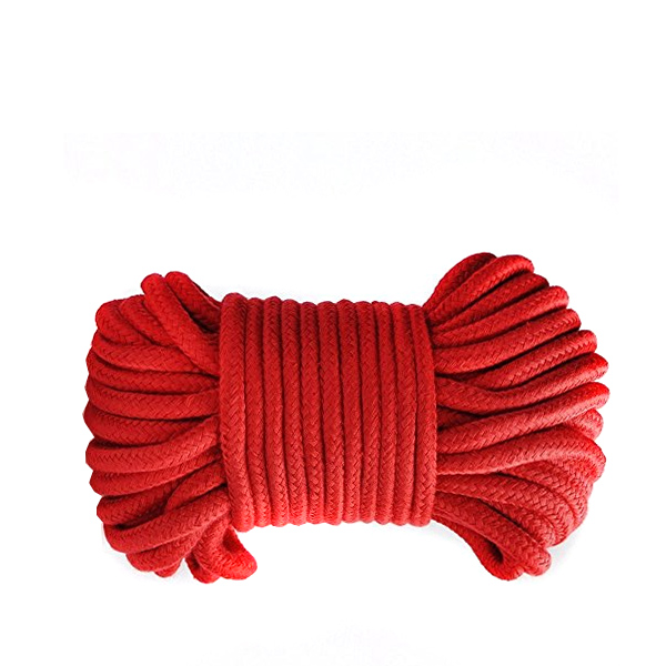 Верёвка для бондажа Shibari Rope Red 10м