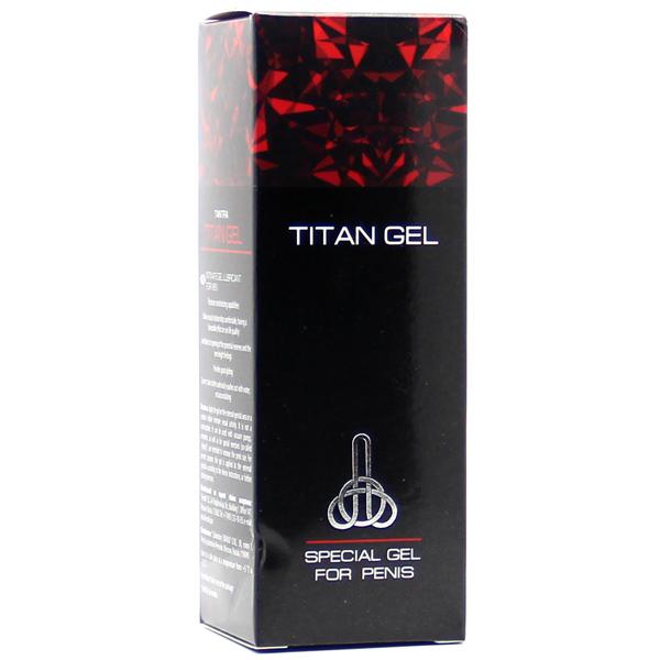 Крем для увеличения пениса Titan Gel 50 мл