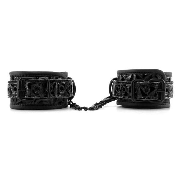 Наручники с орнаментом Wrists Cuffs Black