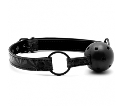 Кляп Luxury Fetish Ball Gag Black