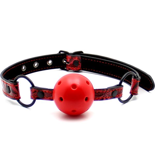 Кляп Luxury Fetish Ball Gag Red
