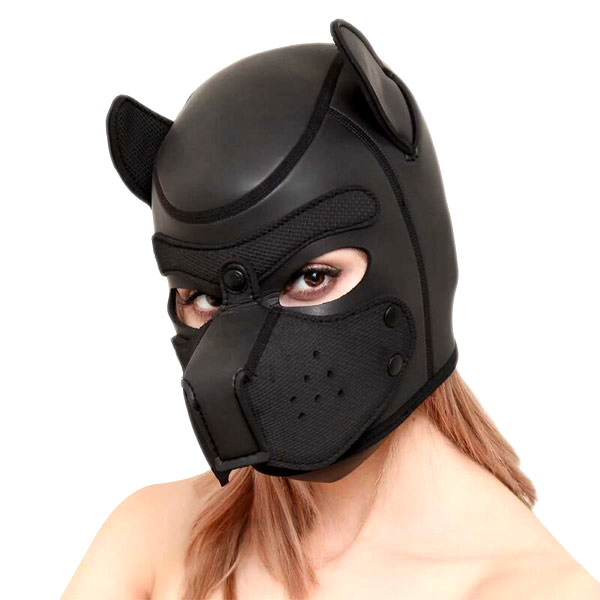 Маска собаки Bad Puppy Neoprene Black