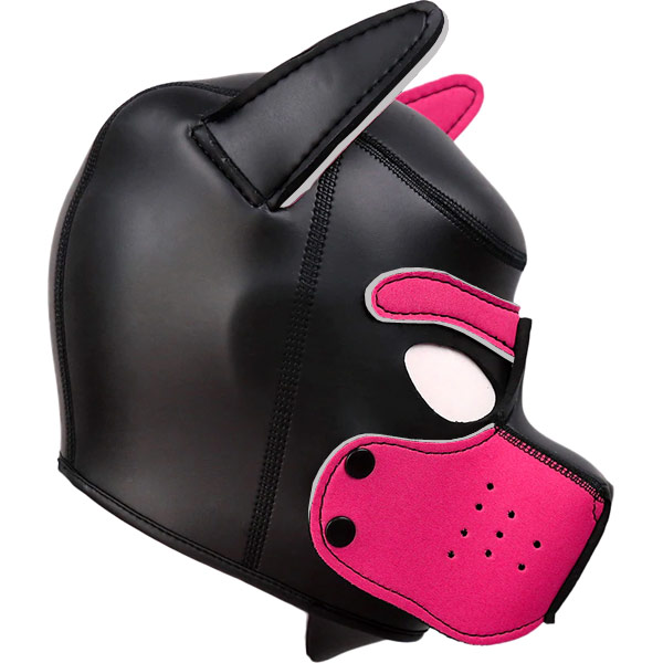 Маска собаки Bad Puppy Neoprene Pink