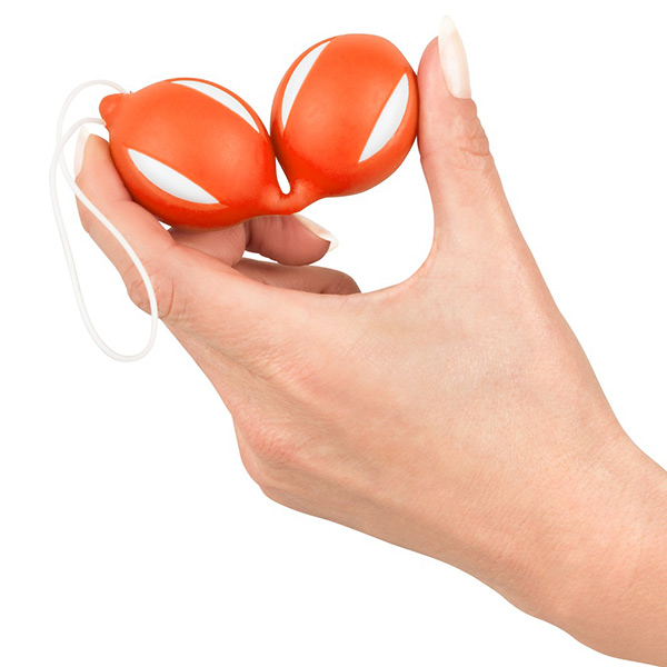 Вагинальные шарики из силикона Geisha Balls Orange