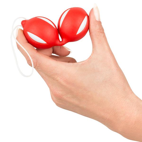 Вагинальные шарики из силикона Geisha Balls Red