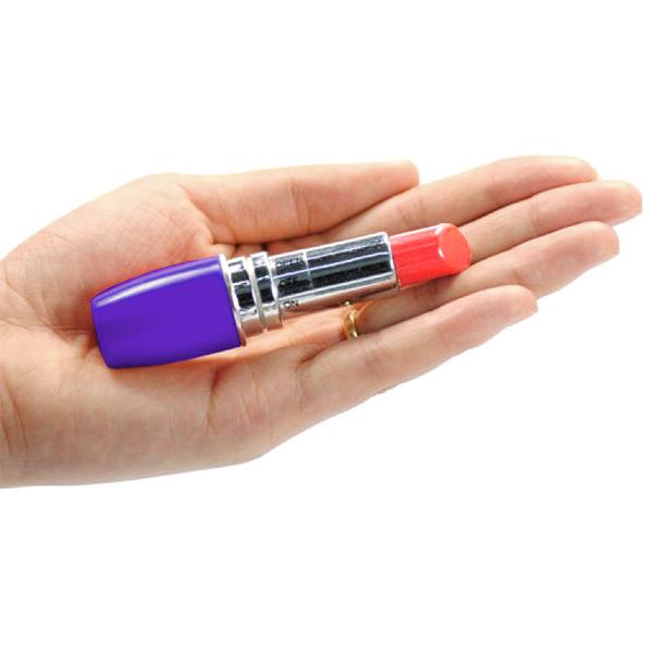Клиторальный стимулятор губная помада LipStick Purple
