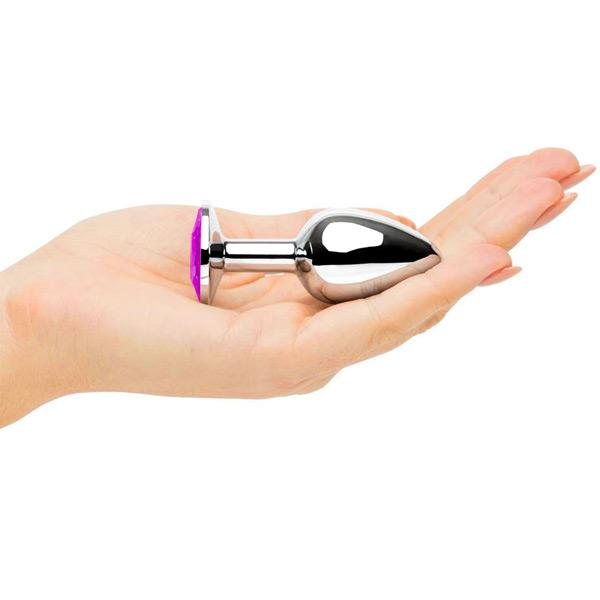 Анальное украшение Butt Plug Silver-Barbie 7см*2,8см