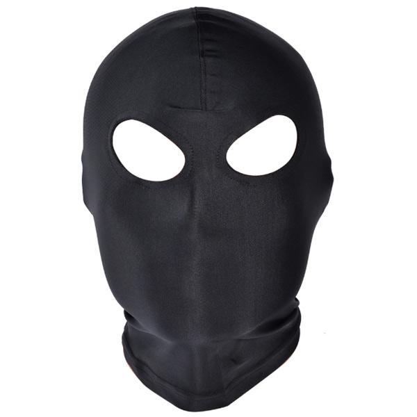 Черная маска с отверстиями для глаз Black Mask