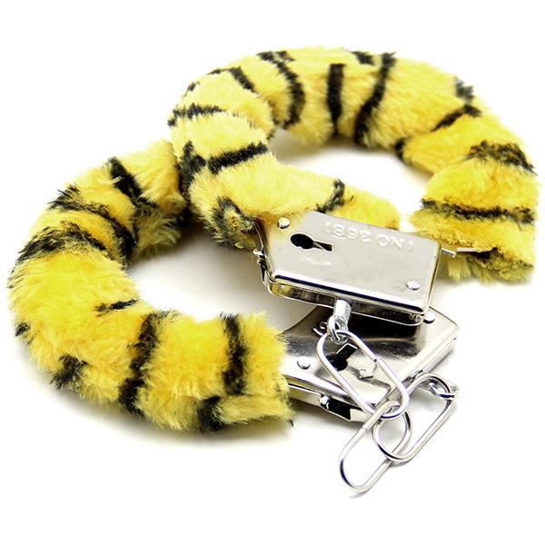 Аксессуарные наручники Fluffy Cuffs Tiger