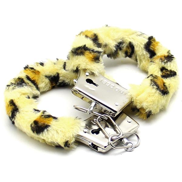 Аксессуарные наручники Fluffy Cuffs Leo