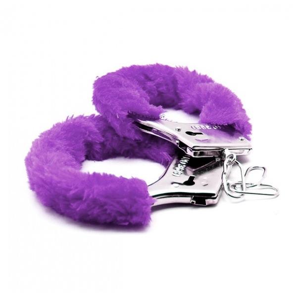 Аксессуарные наручники Fluffy Cuffs Liliac