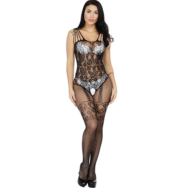 Чулок на тело с узорами Sexy Fishnet Lingerie #062