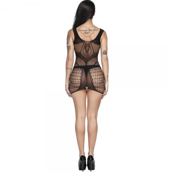 Эротическое мини платье Sexy Fishnet Lingerie #311