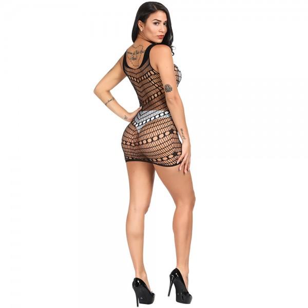 Сексуальное платье-сетка Sexy Fishnet Lingerie #302