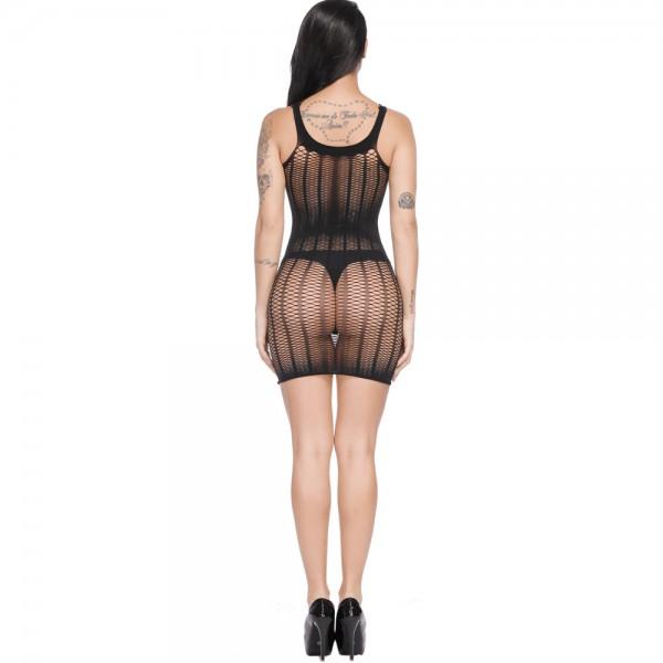 Сексуальное платье из сеточки Sexy Fishnet Lingerie #302
