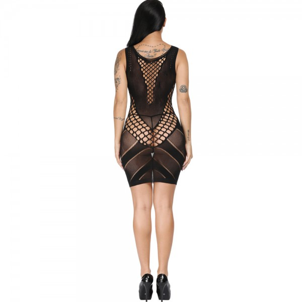 Секси платье до колен Sexy Fishnet Lingerie #300