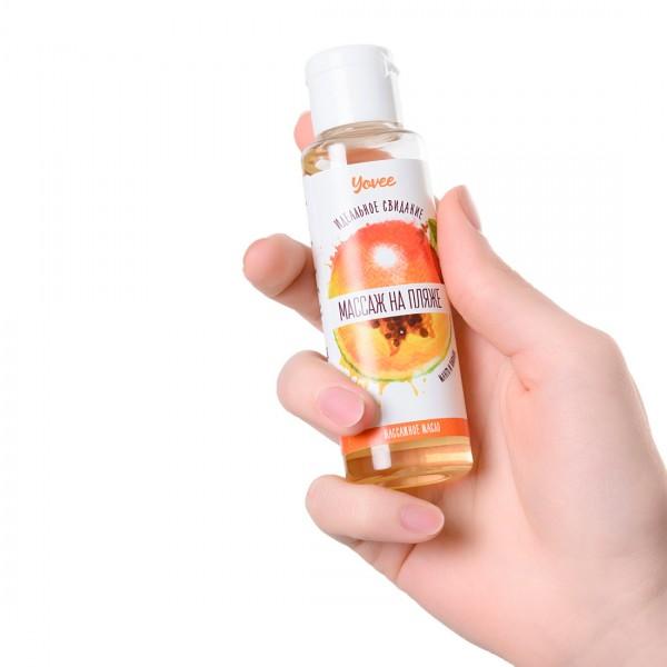 Массажное масло Yovee с ароматом манго и папайи 50 мл