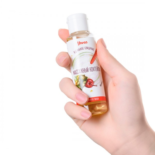Массажное масло Yovee с ароматом пина колады 50 мл