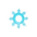 Эрекционное кольцо Snowflake J Blue