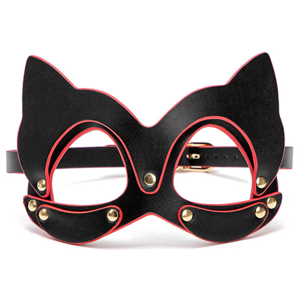 БДСМ набор аксессуаров в черном кейсе Bad Kitty Black and Red