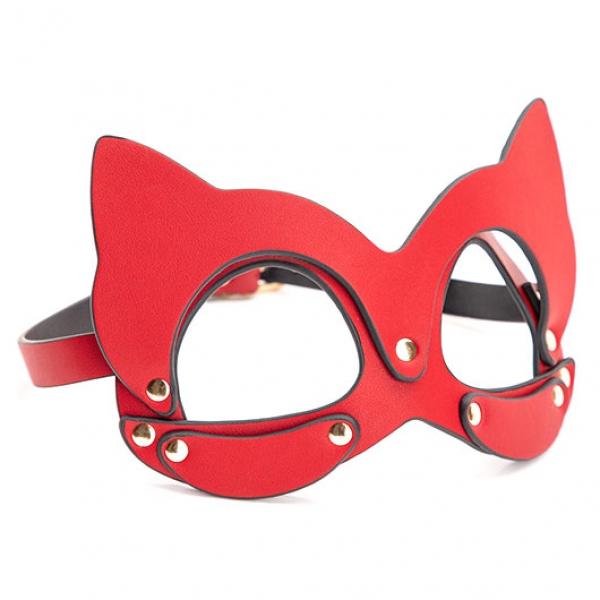 Эротическая маска на глаза Masquerade Red Cat