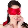 Атласная повязка на глаза Satin Mask Red