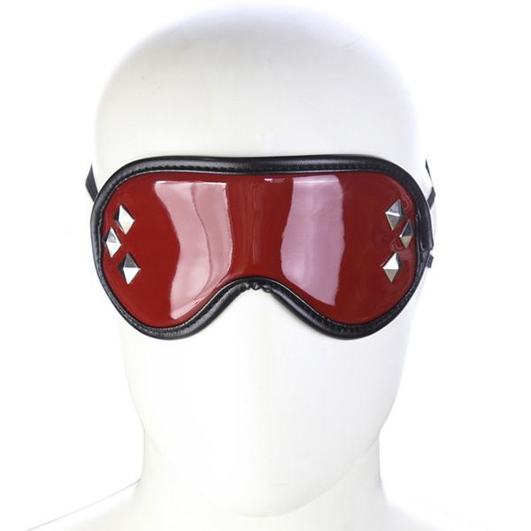 Маска на глаза с клепками Brown Mask