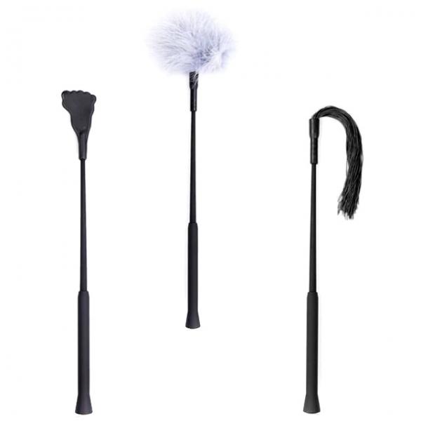 Набор для наказаний Sadism Black Kit 3in1