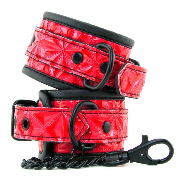 Наручники с орнаментом Wrists Cuffs Red